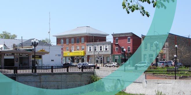 Downtown Kemptville, Ontario