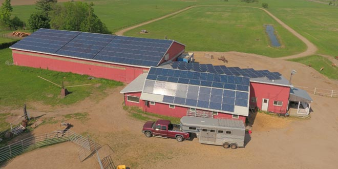 OREC's Smith Farm Project - Photo by iSolara Solar Power Inc.