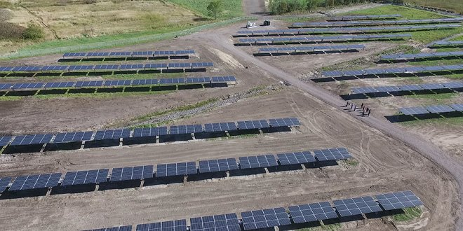 Photo of the Alfred Solar Power Project courtesy of Michel Chrétien