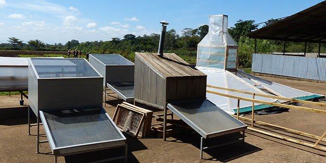 Solar Dryers in Tanzania